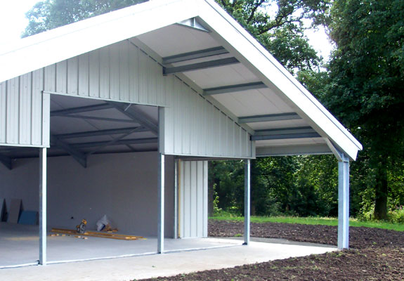 Construction stages Muircot Farmshop 3rd Sept