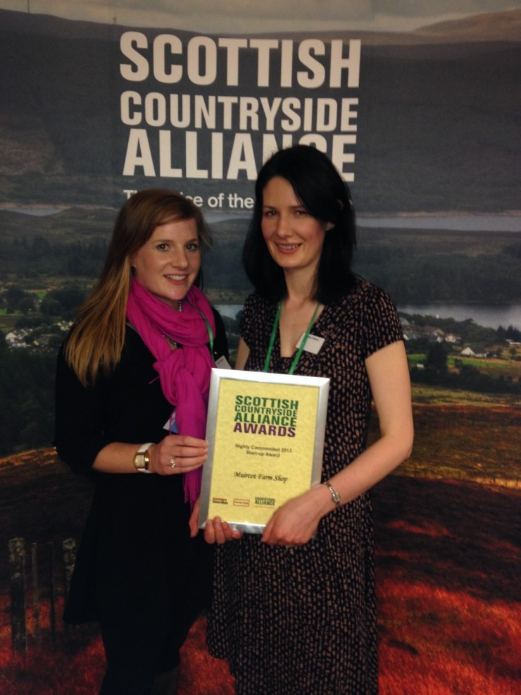 Successful night at the Countryside Alliance Awards. Thank you to everyone who nominated us, we picked up highly commended in the Business Start up category.